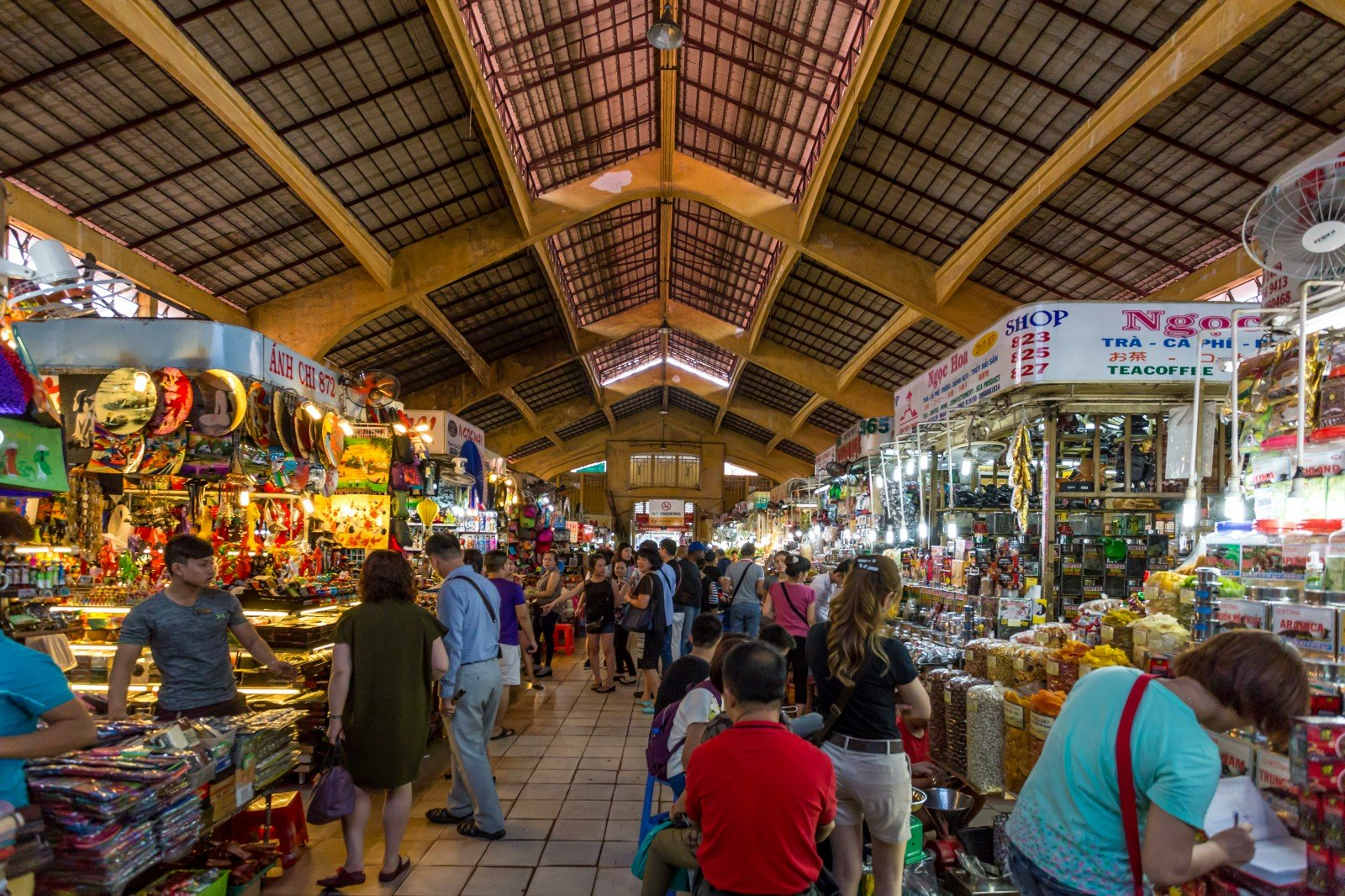 Ben Thanh Night Market - Things to do in Sai Gon at night