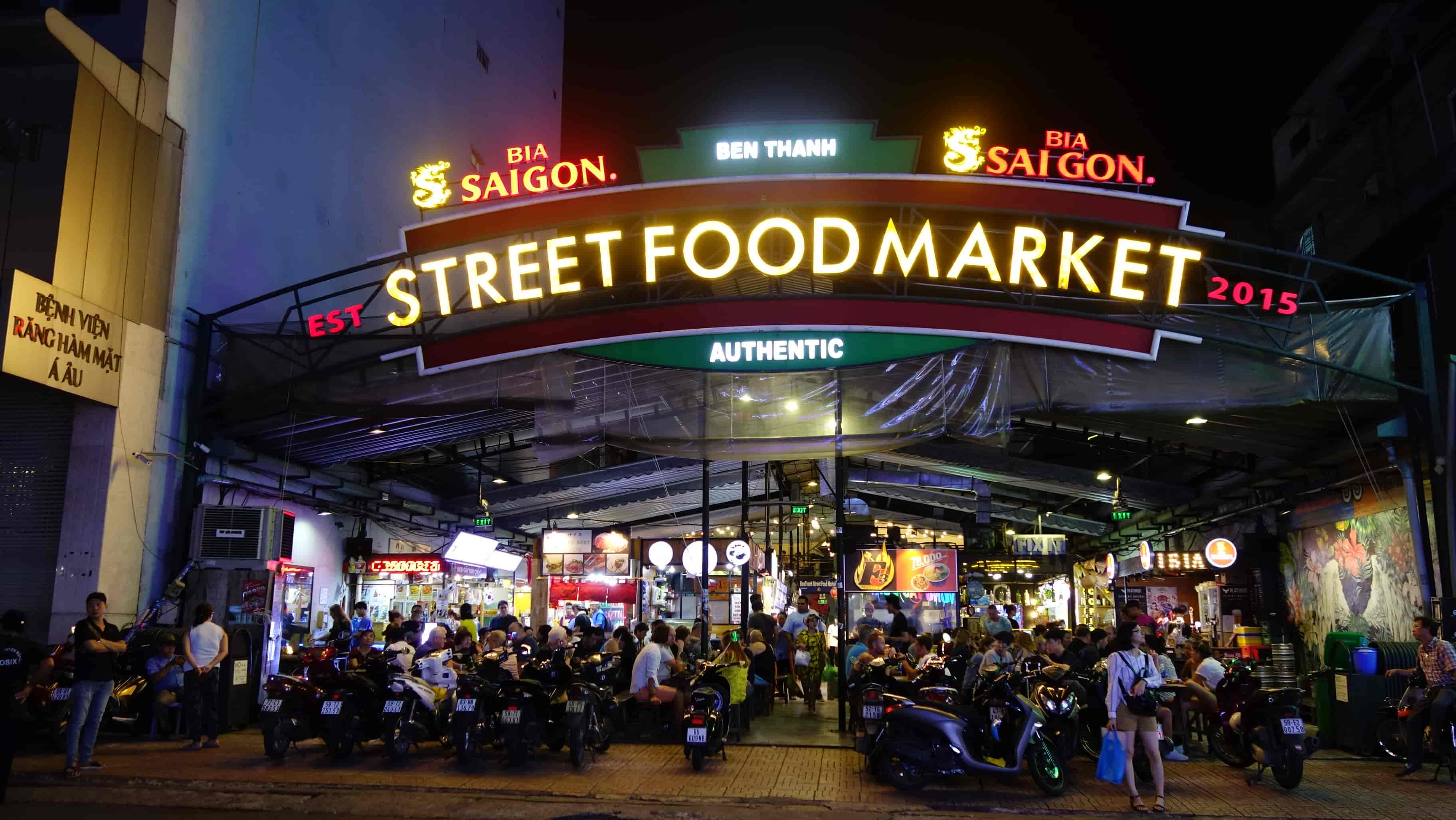 Ben Thanh Street food - Things to do in Ho Chi Minh City at night