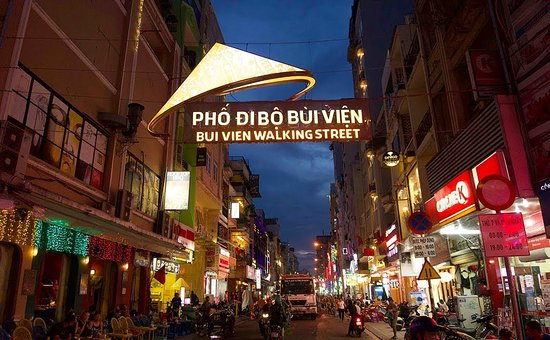 bui-vien-walking-street - Ho Chi Minh City at night