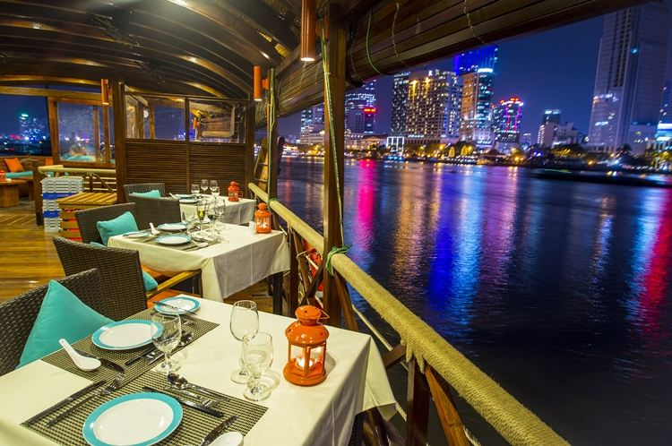 dinner-cruise-on-saigon-river - things to do in Ho Chi Minh city at night