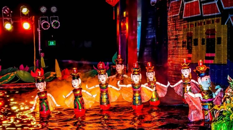 Water Puppet - Hanoi in December
