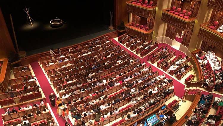 A O Show in Sai Gon Opera House