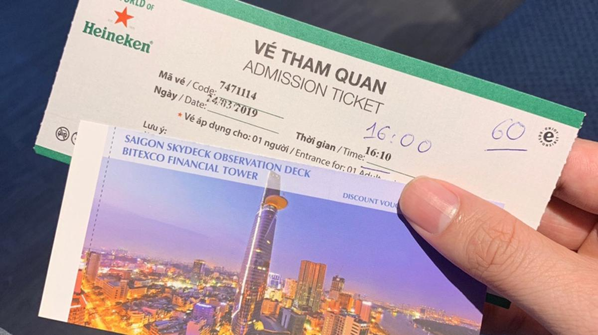 Saigon Skydeck - Heineken admission fee