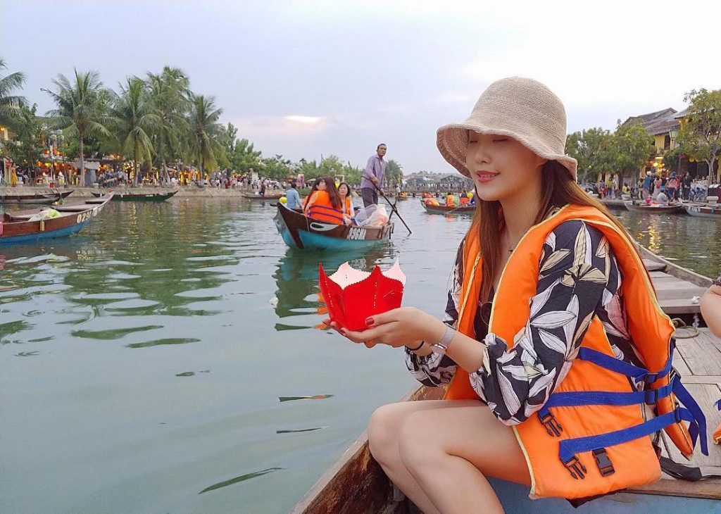 Hoai river in Hoi An Itinerary 2 days
