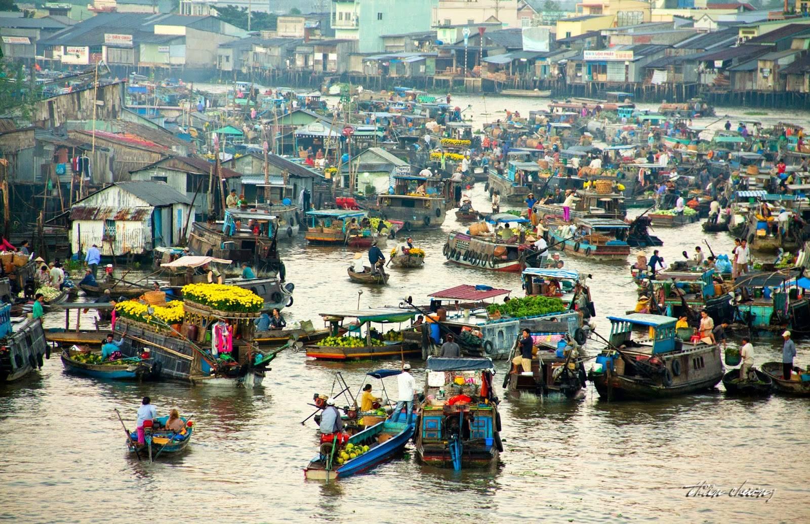 mekong Delta - vietnam in december