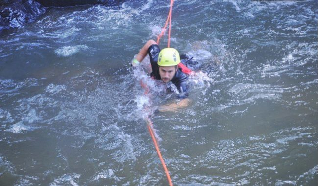 Canyoning Da Lat - Swimming