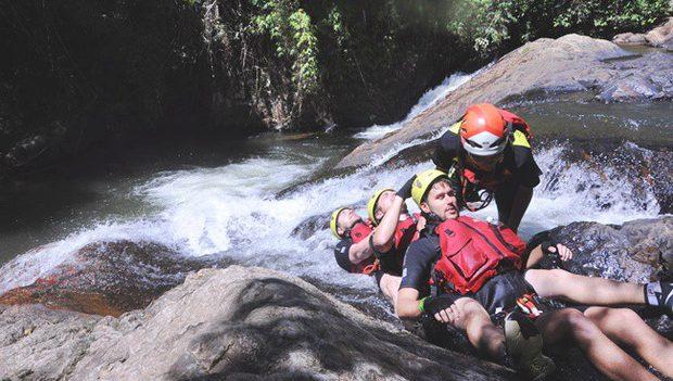 Canyoning Dalat - Sliding