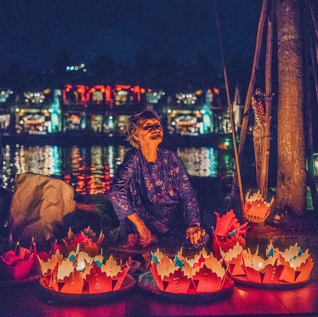 Hoai River in Hoi An